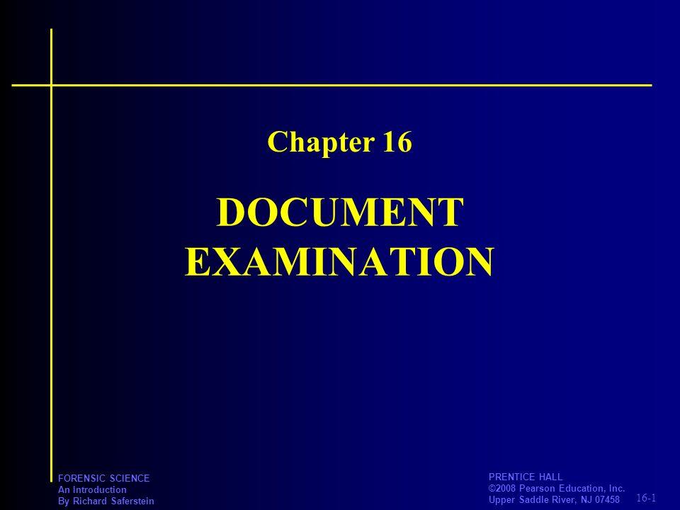 16-2 PRENTICE HALL ©2008 Pearson Education, Inc.