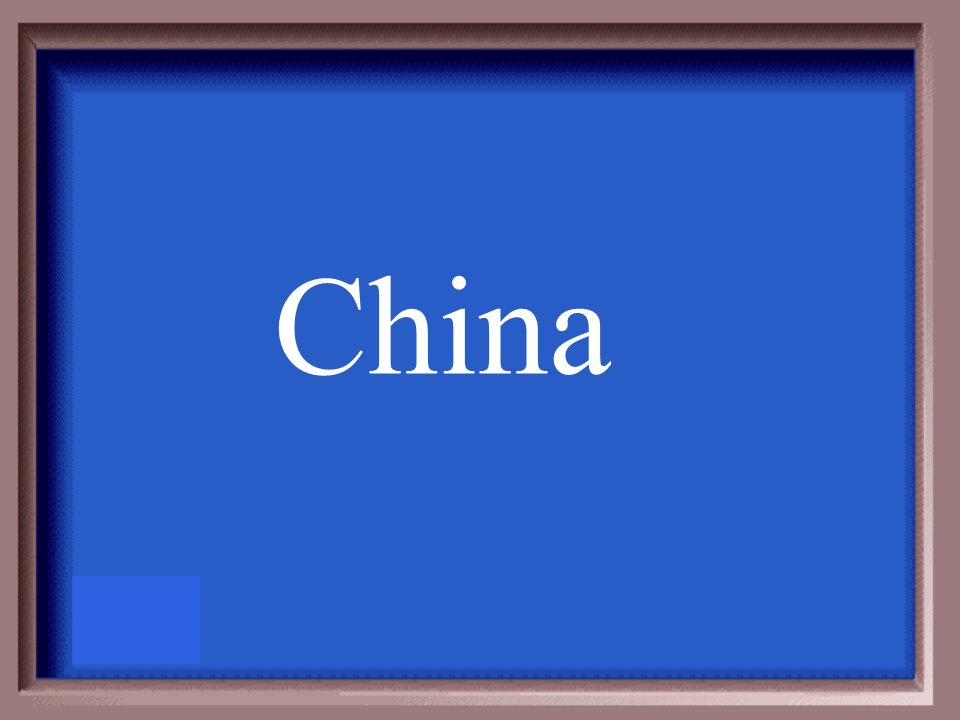 A country that may be considered semi-periphery would be: A) United States B) Ukraine C) Nigeria D) China