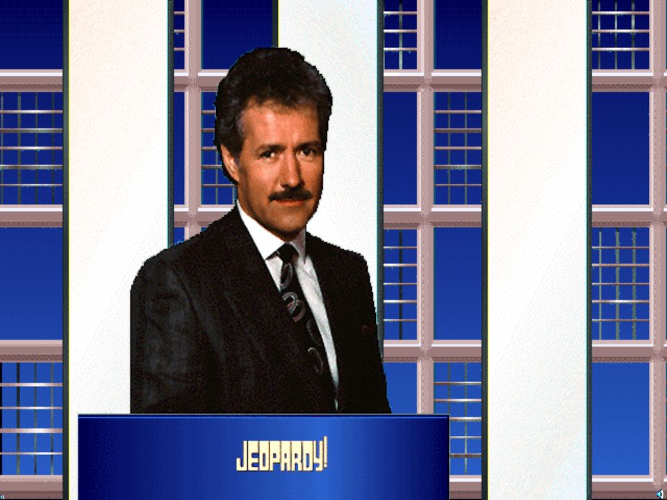 Instructions for Playing Jeopardy Click on the question that you want to attempt, example $100 Read the question and click on the slide to advance to