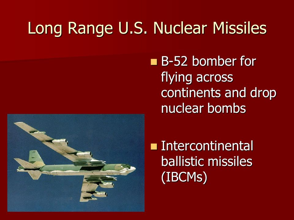 Long Range U.S.