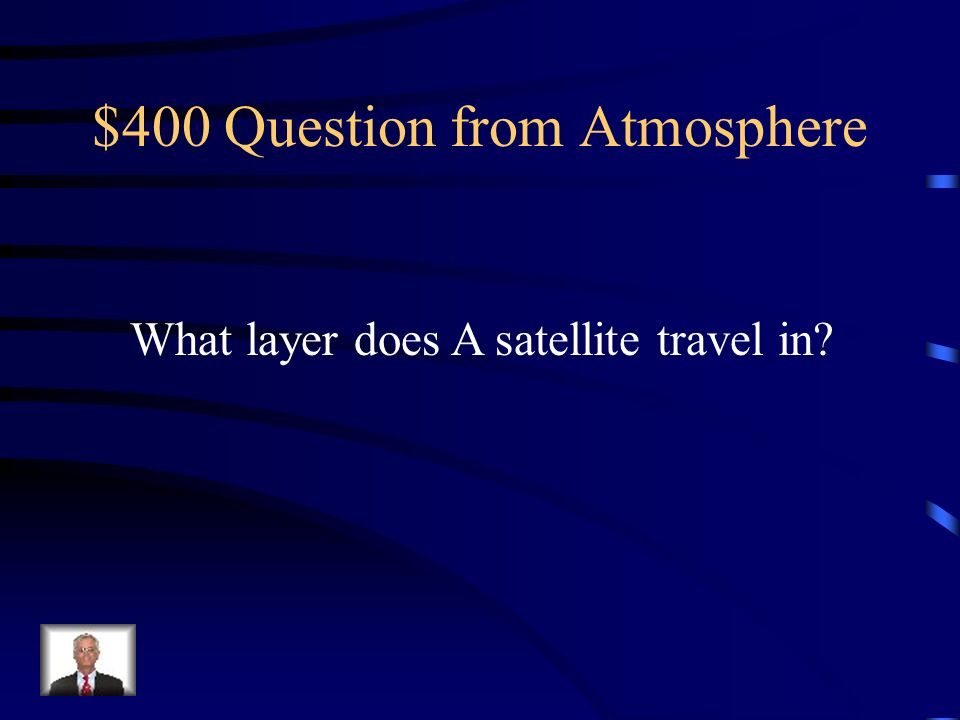 $300 Answer from Atmosphere Ionosphere