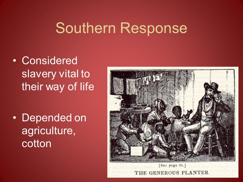 Nat Turner Rebellion August 1831 Nat Turner organized a slave revolt in which 160 people were killed