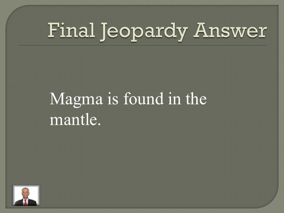Where is magma found