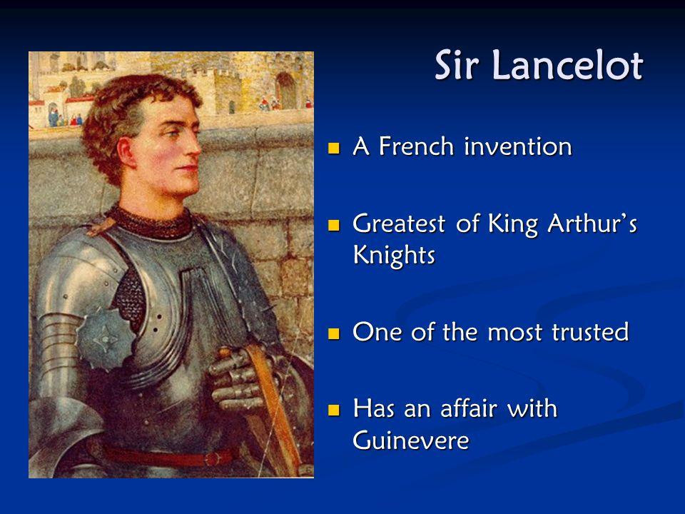 King Arthur Son of Uther Pendragon + Igraine Son of Uther Pendragon + Igraine Raised by Sir Ector Raised by Sir Ector Drew the sword from Drew the swo