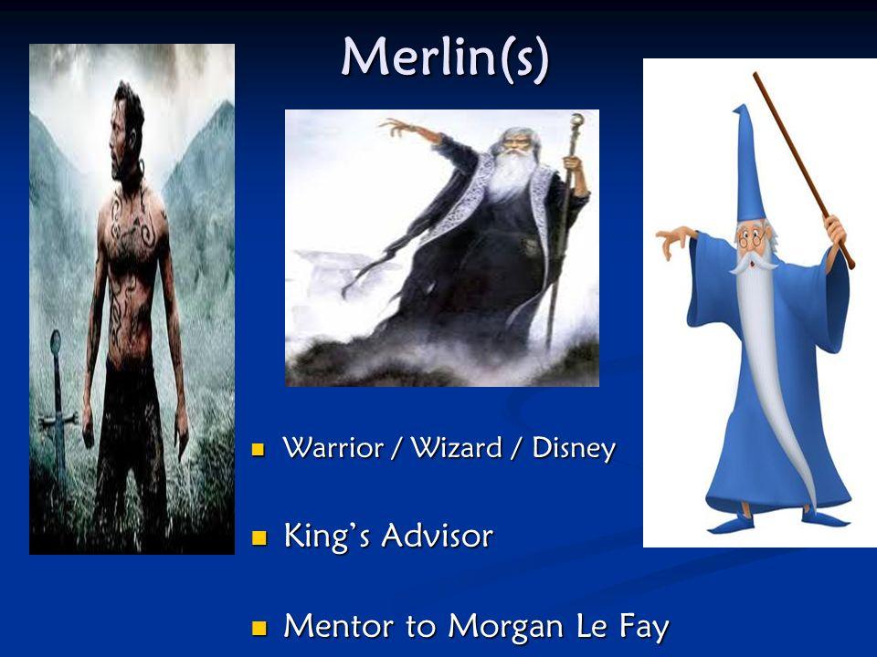 Sir Mordred Illegitimate son of Arthur & Morgan Le Faye?? Illegitimate son of Arthur & Morgan Le Faye?? Traitor Traitor Takes over Kingdom while Arthu
