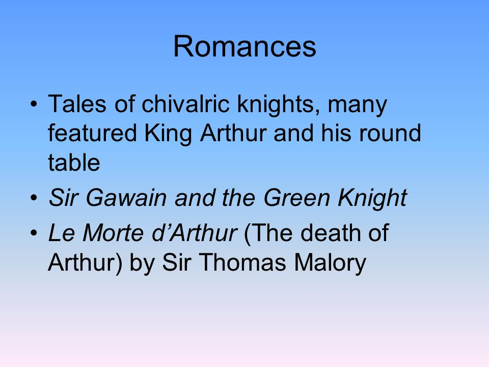 Geoffrey Chaucer pg 106 1340?-1400 The Father of English Literature Chaucer is French for shoemaker 1357Became an attendant for the Princes wife 1359French POW in 100 yr war, ransomed by the court
