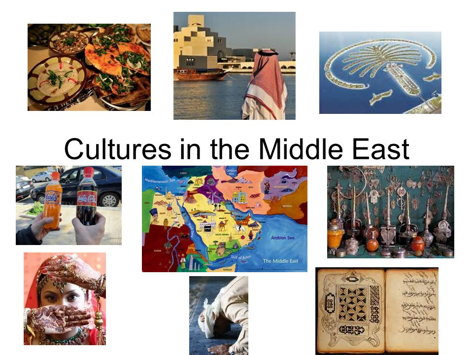 Cultures in the Middle East