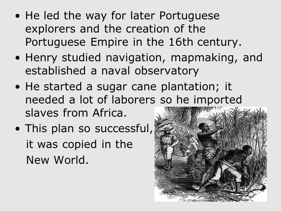 Prince Henry the Navigator Prince Henry the Navigator was a Portuguese prince who sponsored many expeditions along Africa's west coast. He became gove