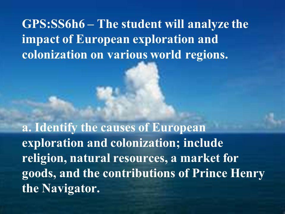 European Exploration & Colonization