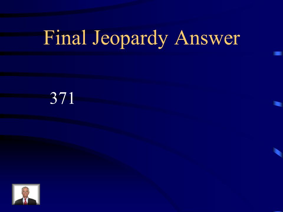 Final Jeopardy How many days are their in 53 weeks