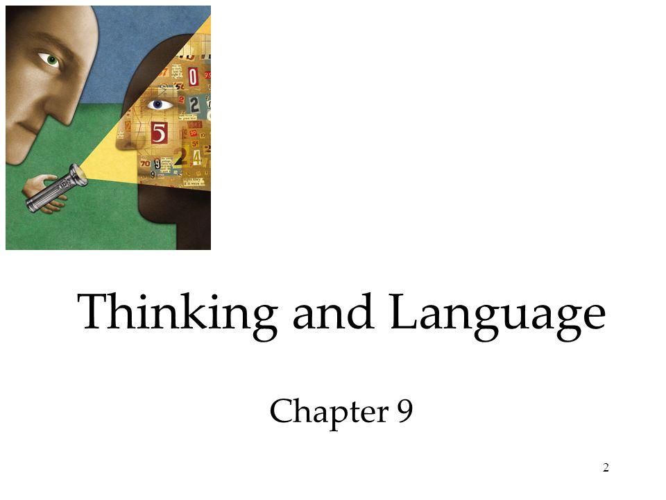 2 Thinking and Language Chapter 9