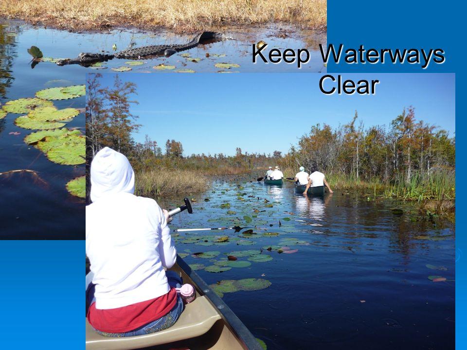 Keep Waterways Clear