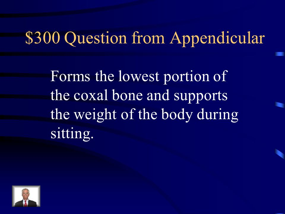 $200 Answer from Appendicular What is the acromian process?