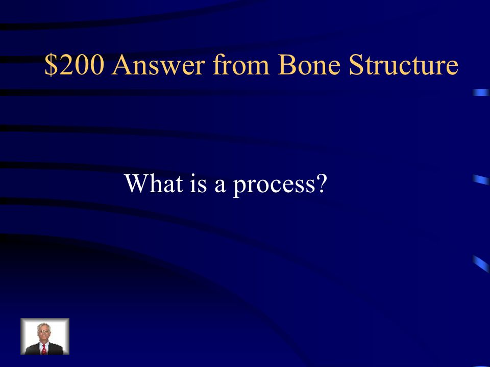 $200 Question from Bone Structure The projections on some bones that provide a site for attachment of tendons and ligaments.