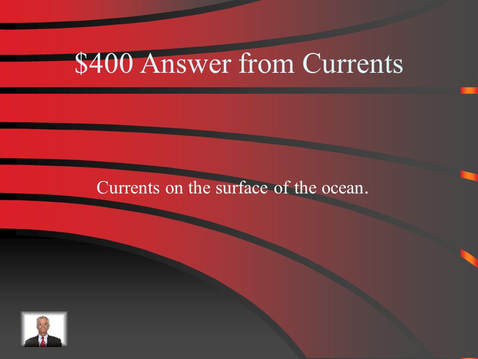 $400 Currents What is a surface current