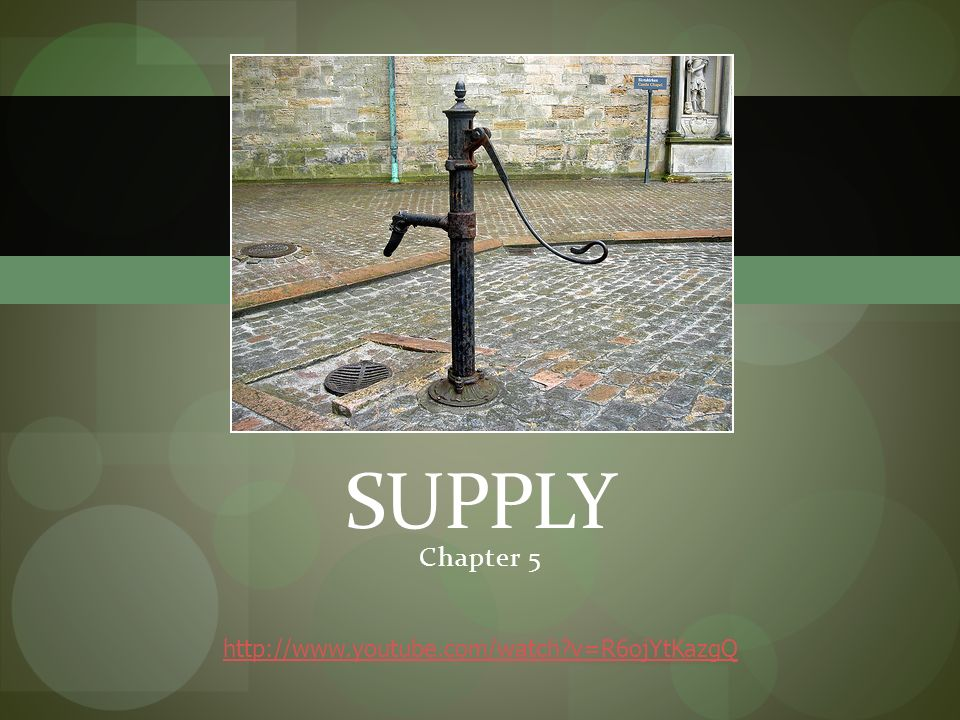 Chapter 5 SUPPLY   v=R6ojYtKazgQ