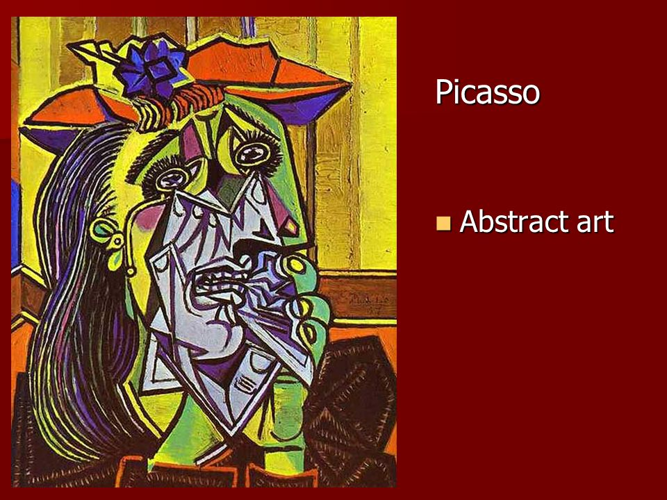 Picasso Abstract art Abstract art