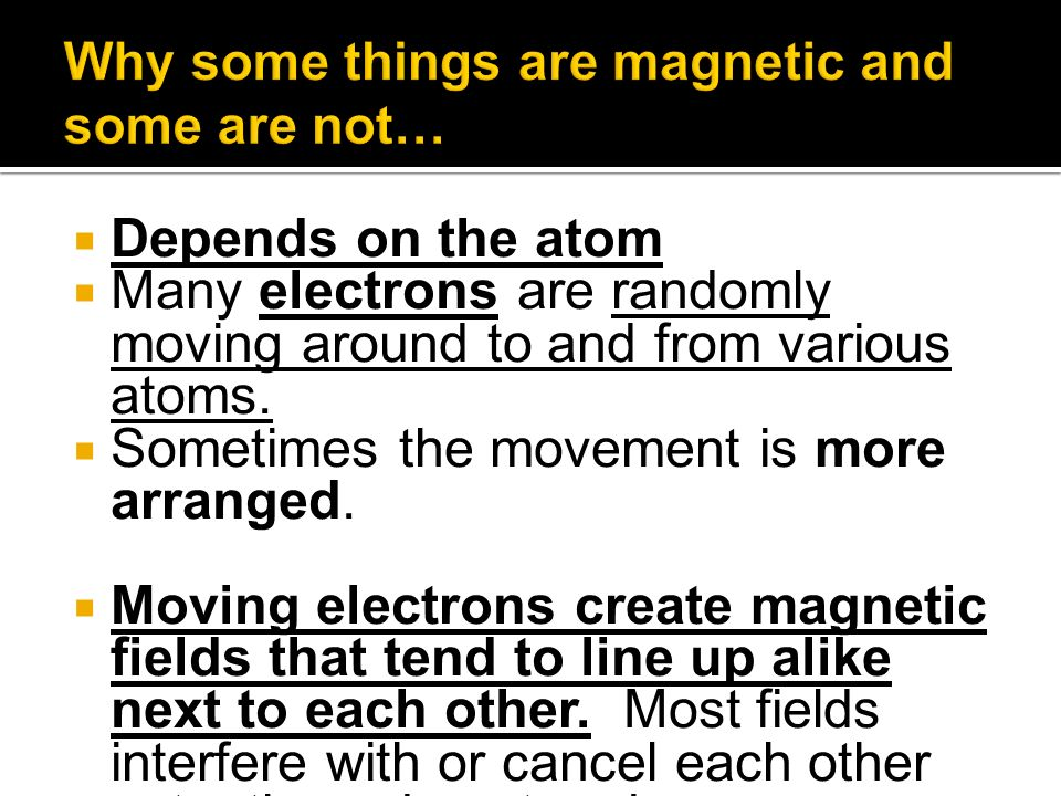 Depends on the atom Many electrons are randomly moving around to and from various atoms.