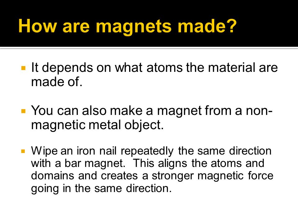 It depends on what atoms the material are made of.