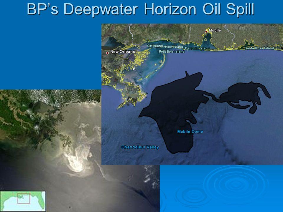 BPs Deepwater Horizon Oil Spill