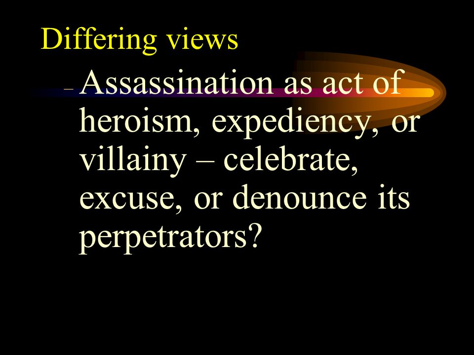 The Importance of Caesar Caesars assassination and death affected Rome and its territories for centuries Story is simultaneously personal and politica