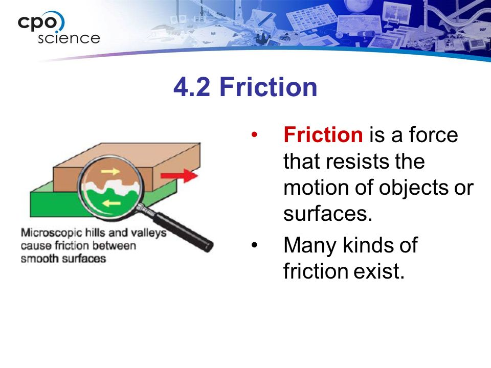 4.2 Four Types of Friction 2 Forms of Fluid Friction