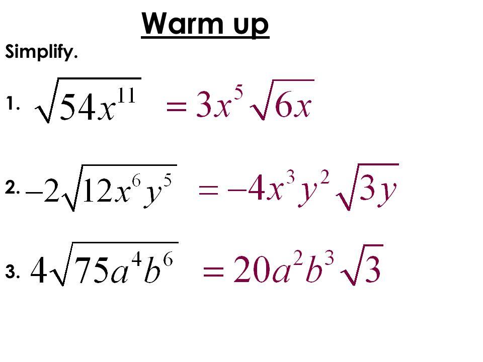 EOCT Practice a a)b - 8 b)b + 8 c)b - 15 d)b + 15 The area of a rectangle is b 2 – 5b – 24 square centimeters.