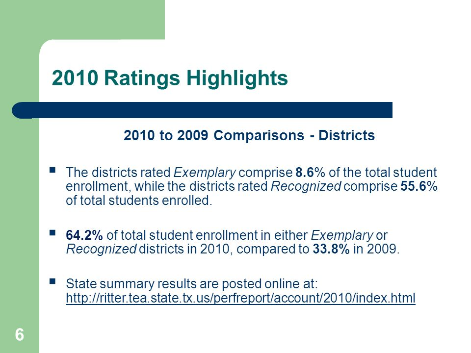 HB 3 Transition Plan Timelines 2011-2012Assignment of performance ratings are suspended for this school year.