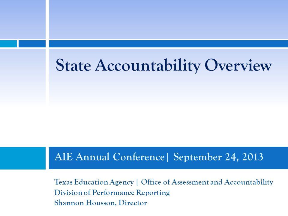 2013 Accountability System