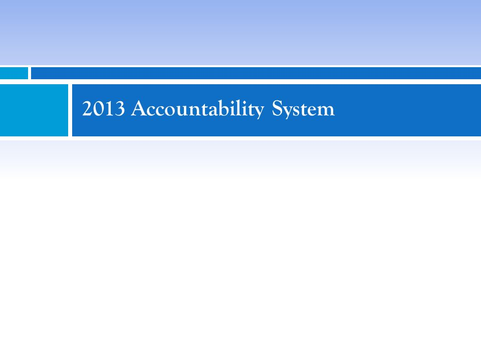 Calendar 33 DateActivity Early November 2013Final accountability ratings released based on outcomes of 2013 appeals Mid November 2013 2013 Texas Academic Performance Reports released on TEASE (formerly known as Academic Excellence Indicator System (AEIS) reports) December 2013 2013 Texas Academic Performance Reports released on TEA website Public Education Grant (PEG) list posted on public website 2013 School Report Cards posted on public website January 2014 2013 Federal Report Cards for Texas Public Schools posted on public website (formerly known as NCLB Report Cards) Spring 2014 List of schools with Campus Improvement Plans (CIP) requirements released once 2014 accountability targets and criteria are determined