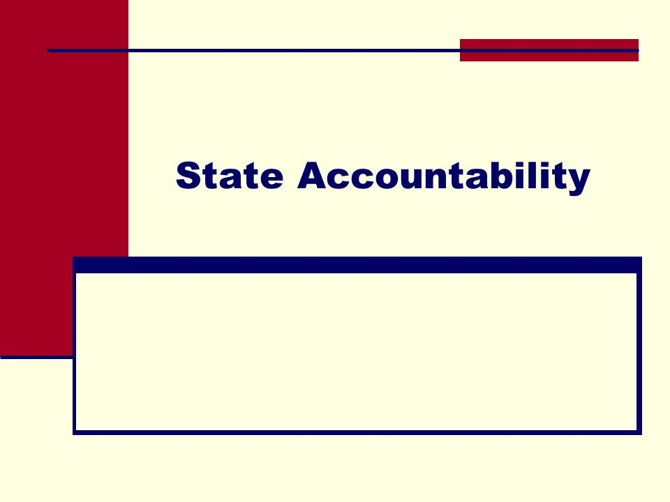 2009 Accountability Timelines