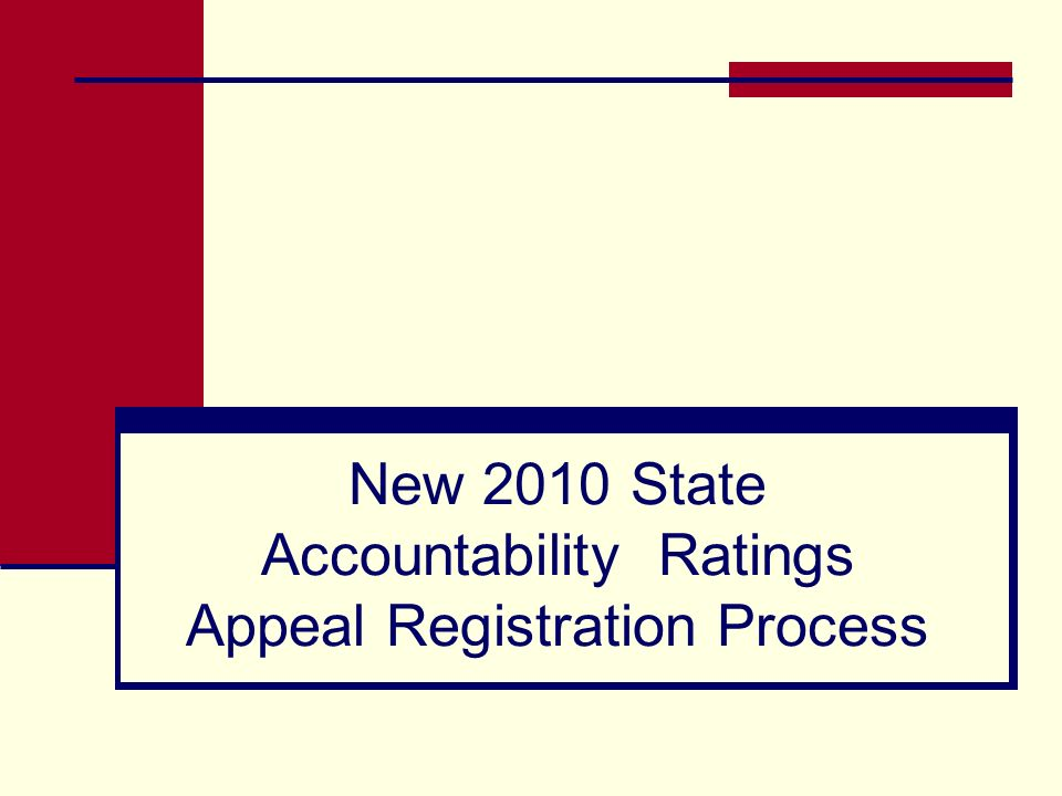 20 TAKS Progress Indicator – AEA Procedures The TAKS Progress indicator standard remains at 50% for 2010 AEA ratings. All TAKS (Accommodated) tests wi