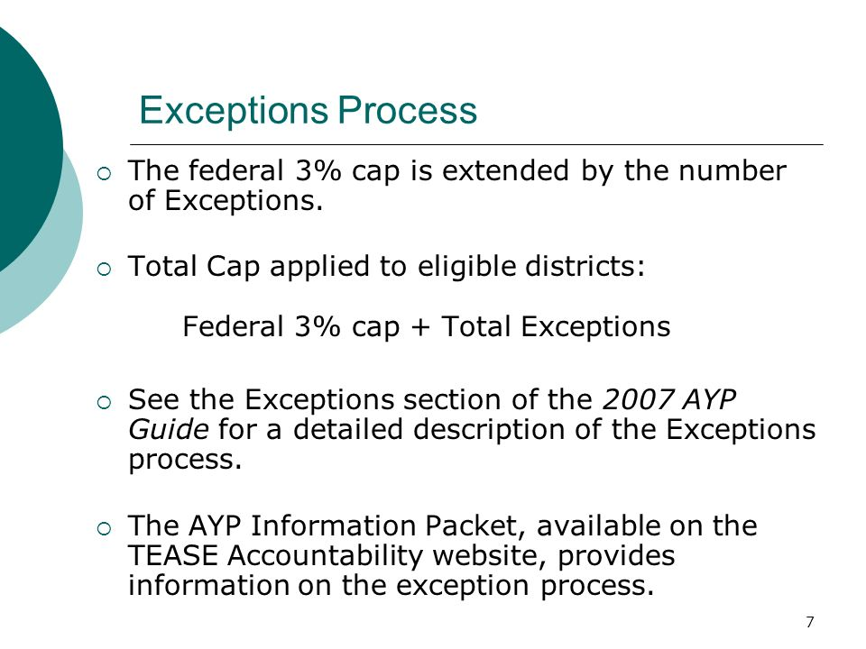 17 2008 AYP Preview Timeline Standard setting for the TAKS-M assessment will not be completed until August 2008.