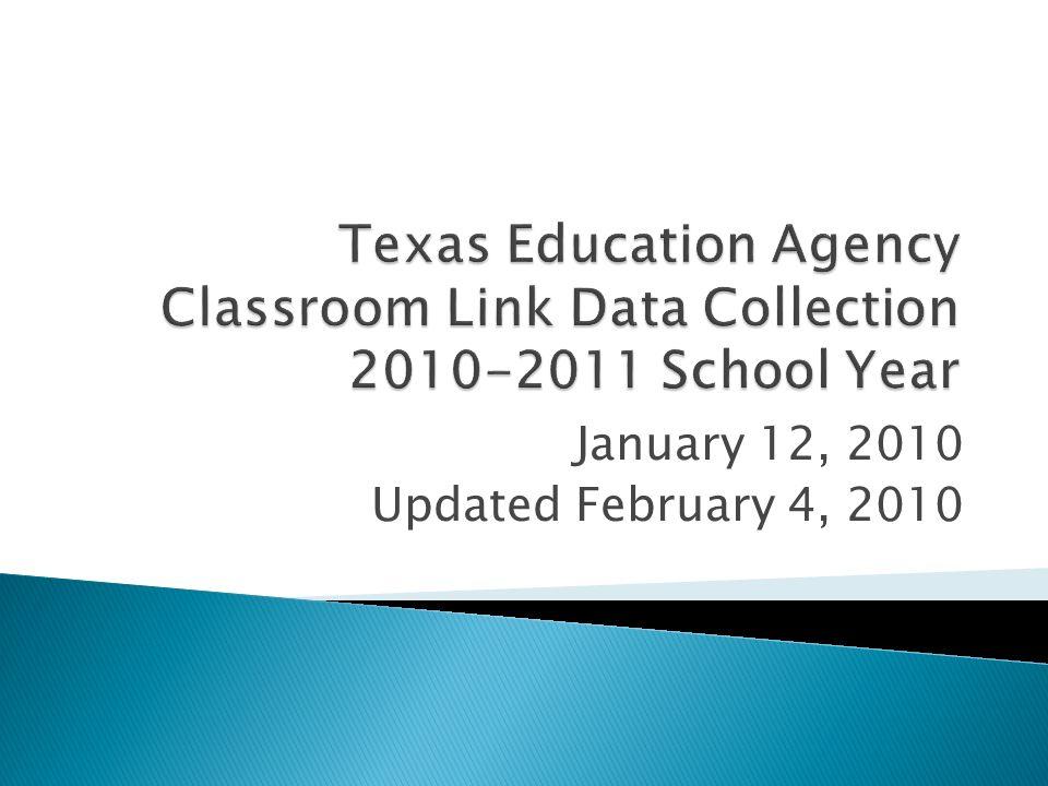 January 12, 2010 Updated February 4, 2010