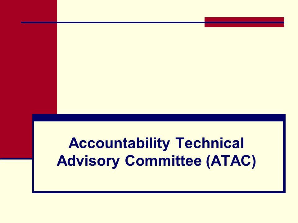 Accountability Technical Advisory Committee (ATAC)