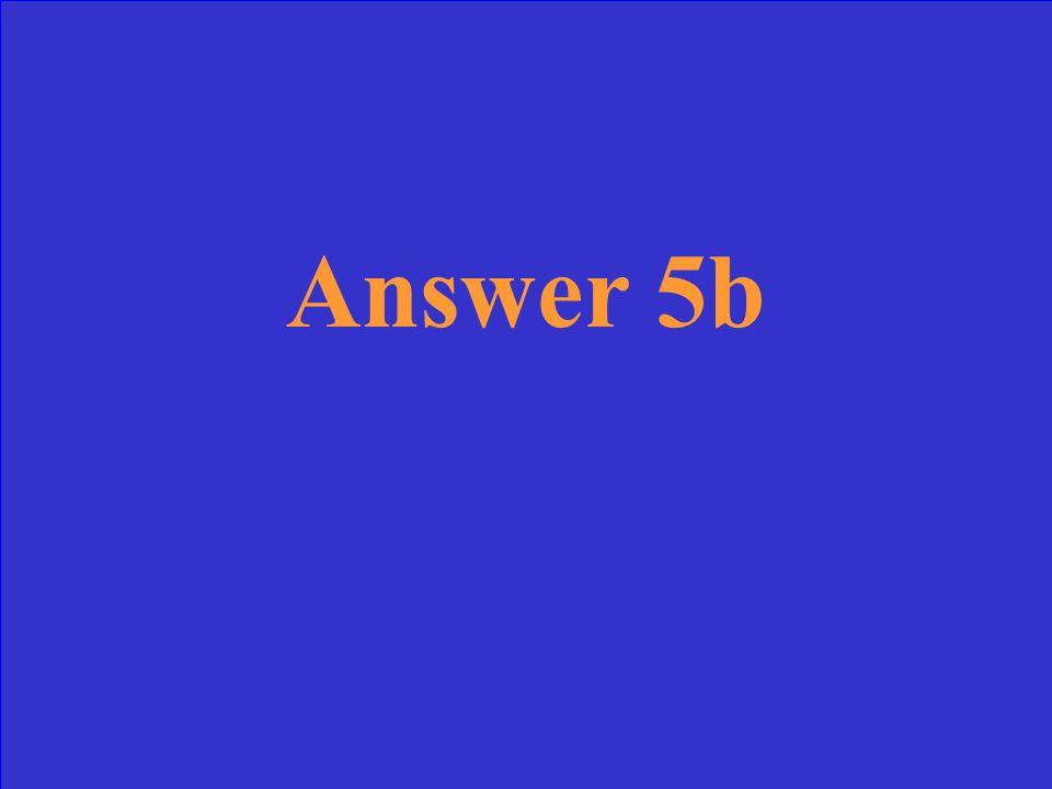 Question 4b
