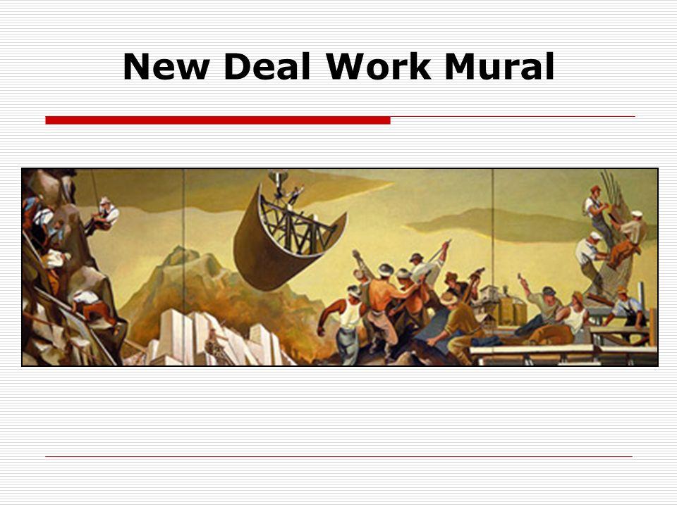 New Deal Work Mural