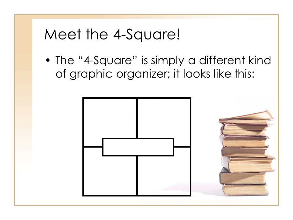 Meet the 4-Square.