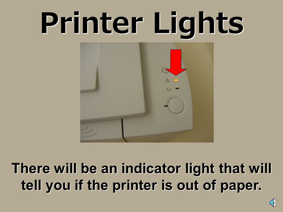 Printer is not working If you press the print button and the document you are trying to print does not come out of the printer, do not press print aga