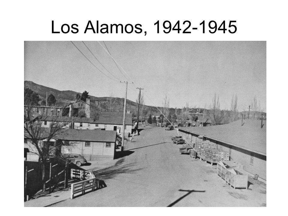 Los Alamos, 1942-1945