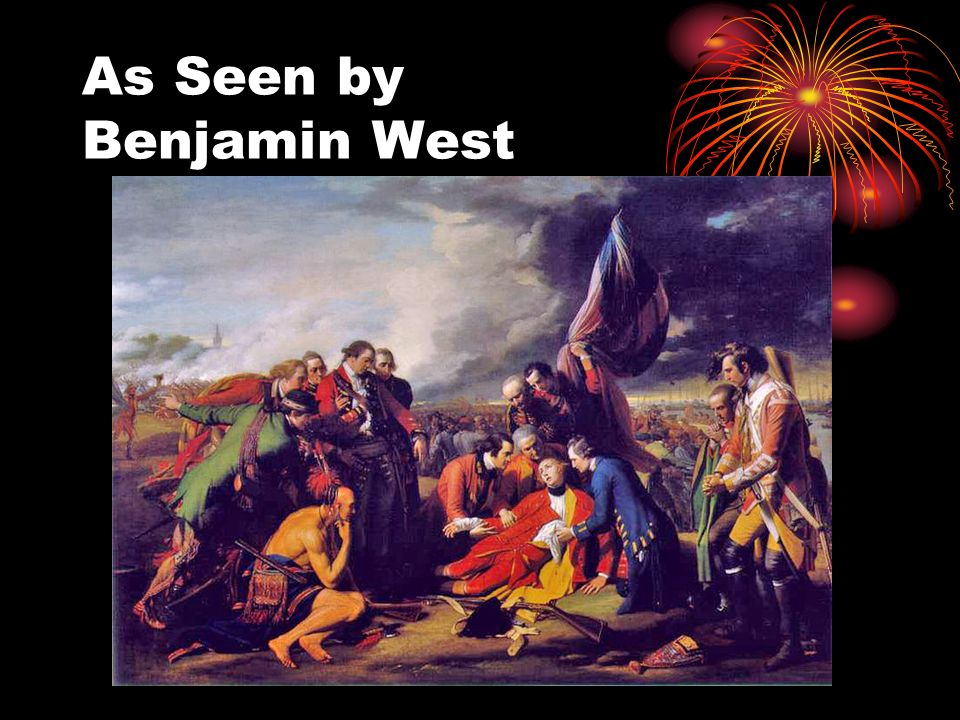 As Seen by Benjamin West