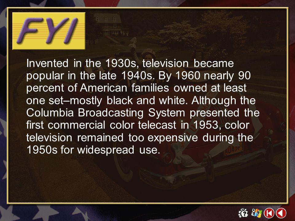 FYI Contents 3 Television Elvis Presley Click on a hyperlink to view the corresponding slide.