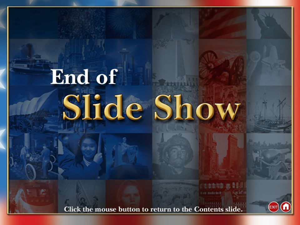 End of Custom Shows WARNING! Do Not Remove This slide is intentionally blank and is set to auto-advance to end custom shows and return to the main pre