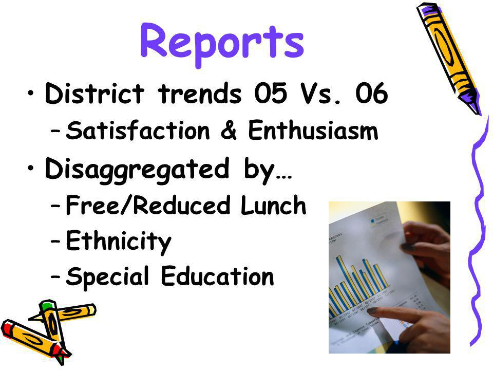 Reports District trends 05 Vs.