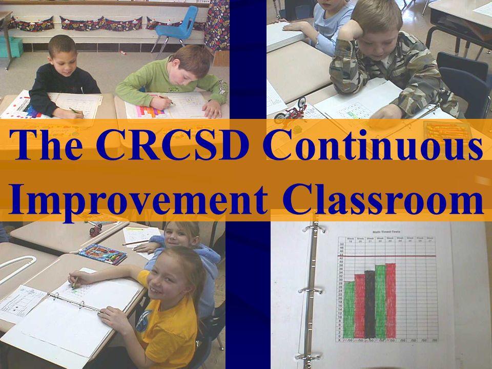 The CRCSD Continuous Improvement Classroom