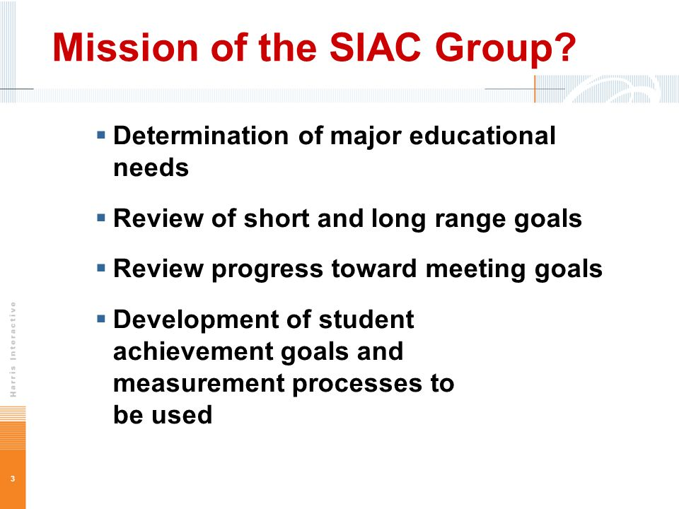3 Mission of the SIAC Group.