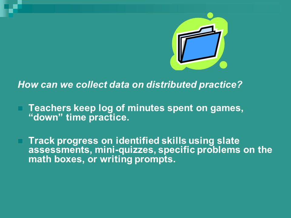 Increase Teachers Knowledge of Mathematics What the research says….