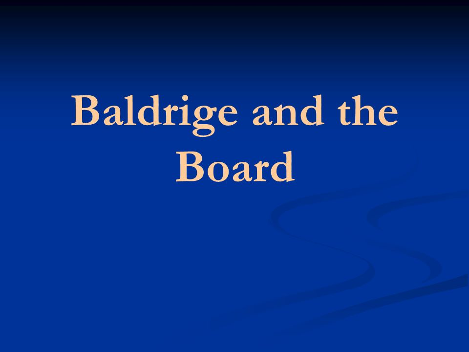 Part III The Baldrige Model of Performance Excellence Prepared for: The Cedar Rapids Community Schools Board of Education The Cedar Rapids Community S