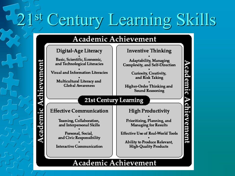 21 st Century Learning Skills