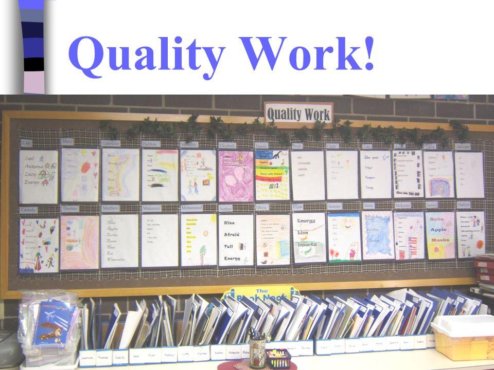 Quality Work!